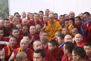 Дээрхийн гэгээнтэн Далай лам Сарнат хотод ном айлдах үеэр Монгол лам нартай уулзав. 2009 оны 1 сар
