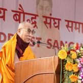 Дээрхийн Гэгээнтэн Далай лам Олон Улсын Буддист Сангха нарын бага хуралд оролцлоо