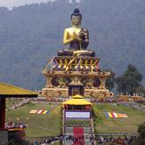 Дээрхийн Гэгээнтэн Татагат Цал-ыг адислаж, Сикким мужийн Раванглад сургааль айлдав