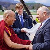 Дээрхийн Гэгээнтэн Далай Лам Өмнөд Тирол мужийн Болзанод хүрэлцэн ирлээ
