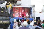 Монгол улс дахь төрсөн өдрийн баярын фото сурвалжлага. Монгол, Улаанбаатар, Гандантэгчэнлин хийд. 2016.07.06.